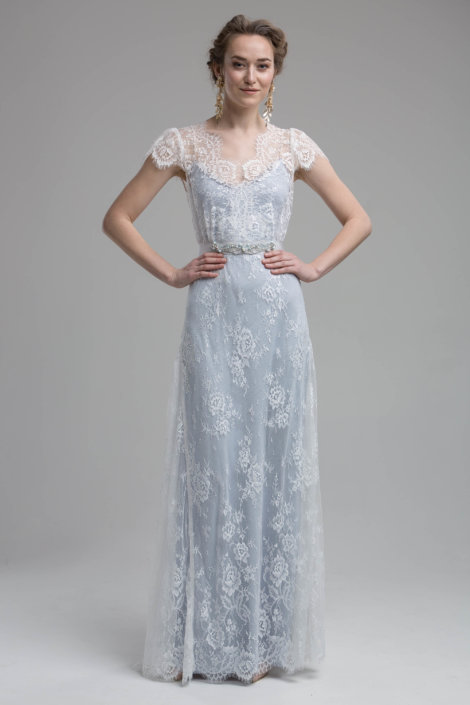 Domenica blau Wedding Dress