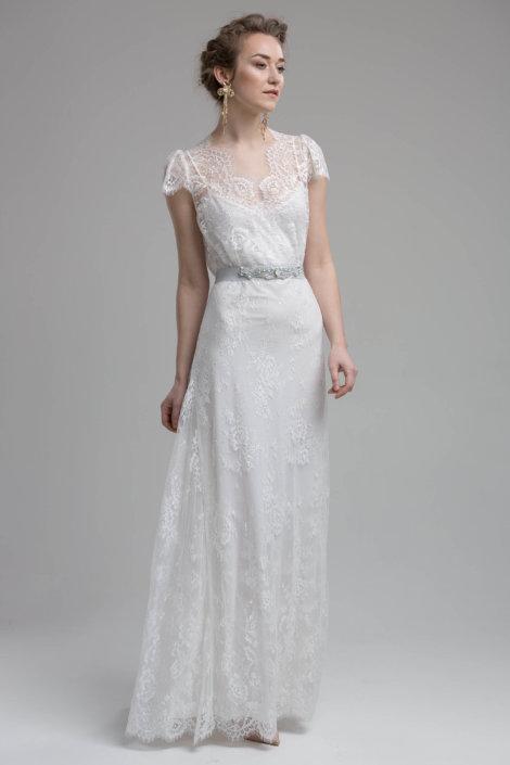 Domenica Ivory Wedding Dress