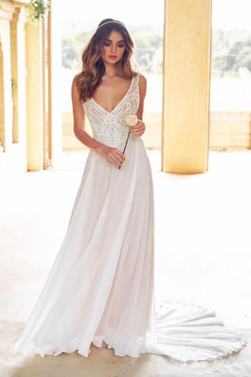 Anna Campbell Brautkleider im Shop der Bridal Boutique kaufen